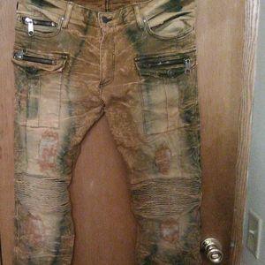 "Robin's Jean cargo pants in ""Peru wash"""